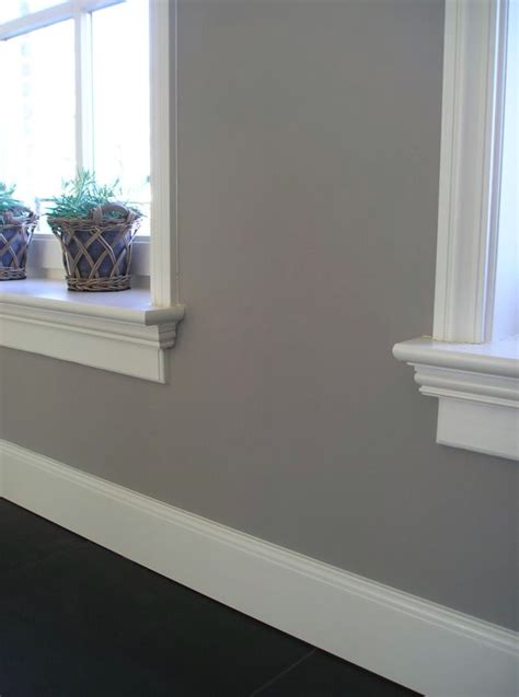 beautiful baseboards  window sills house kitch