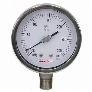 30 Psi 4 U0026quot  Vacuum  Pressure Gauge