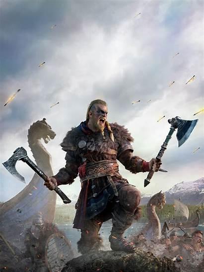 Valhalla Creed Vikings 4k Wallpapers Assassin Games