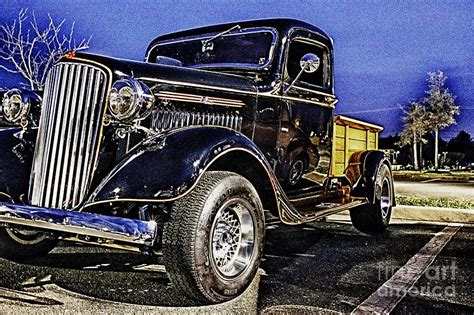 Classic Truck Hdr Pickup Truck Photo Pictures Photos ...