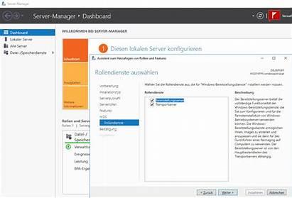 Wds Server Microsoft Installieren Konfigurieren Deployment Windows