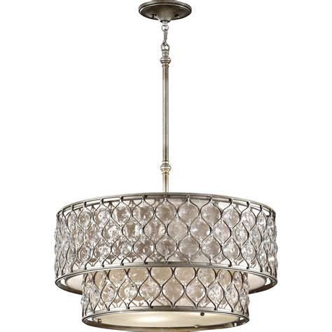 drum chandeliers house of hton honora 6 light drum chandelier reviews
