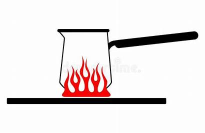 Fire Stove Cartoon Pot Kitchen Gas Handle