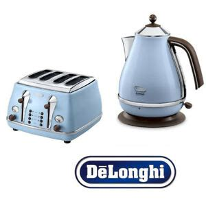 Delonghi Icona Kettle And Toaster Black by Delonghi Icona Kettle And Toaster Set Blue Kettle 4