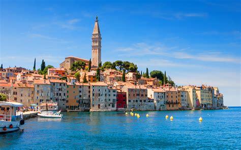 Old Town Rovinj Croatia Foto Postcard : Wallpapers13.com