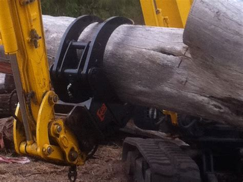 grab excavator