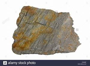 Phyllite (metamorphic rock Stock Photo, Royalty Free Image ...