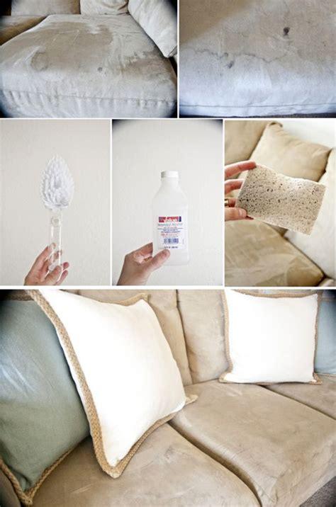 tache canapé tissu voici comment faire disparaître les vilaines taches sur un
