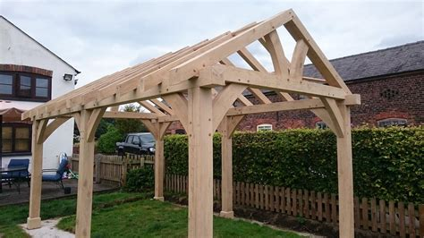 Oak Gazebo & Oak Framed Car Ports   Wooden Gazebos   Oak