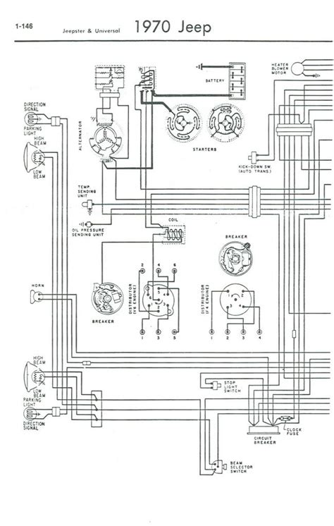 Jeep Cj5 Headlight Switch Wiring Diagram by 1971 Jeep Cj5 Wiring Diagram Help With Wiring Cj5 1969