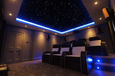 plexiglass mirror starscape fibre optic lighting and ceilings