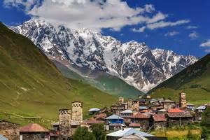 Caucasus Mountains Georgia
