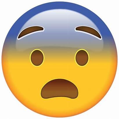 Emoji Face Fearful Icon