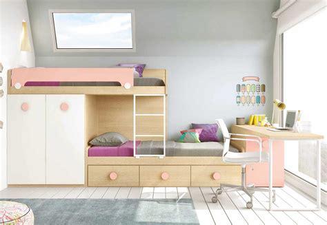 lit superpose avec bureau lit superposé avec bureau pour la chambre enfant