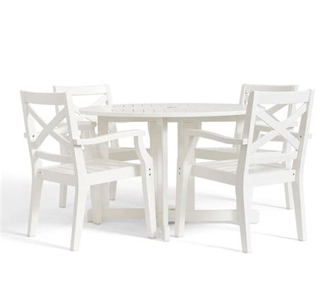 hstead painted drop leaf dining table chair set