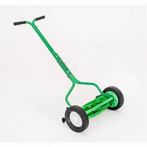 Ecoreel 18 In  Manual Walk Behind Push Reel Mower