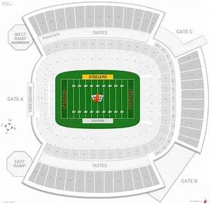 Pittsburgh Steelers Seating Guide - Heinz Field