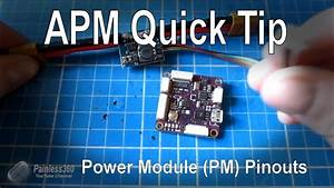 Apm Quick Tip  Different Pinouts For The Power Module  Pm  Warning