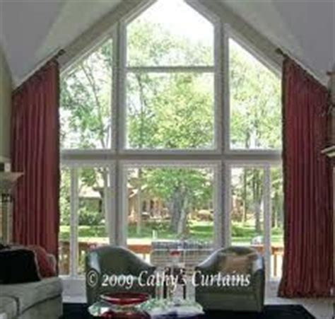 curtains for angled top windows search home
