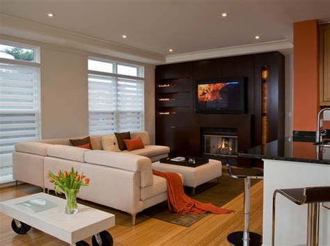 contemporary livingrooms living room modern living room with fireplace