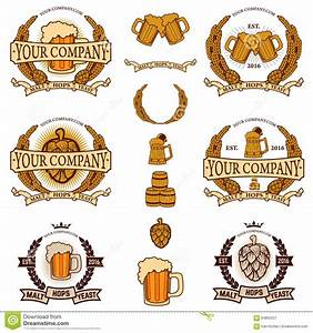 Beer labels generator stock vector image 64865257 for Beer logo creator