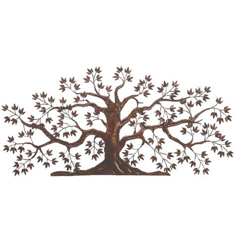 dr livingstone iron tole tree wall art dlw526rust