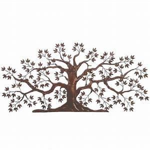 Dr livingstone iron tole tree wall art dlw526rust for Kitchen cabinets lowes with metal tree branch wall art