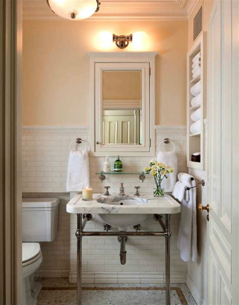 Ivory Subway Tiles  Transitional  Bathroom  John B