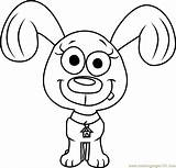 Pound Coloring Puppies Rebound Cartoon Printable Coloringpages101 sketch template