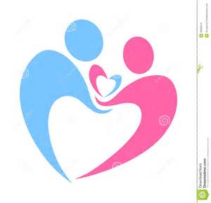Caring Hands Holding Heart Logo