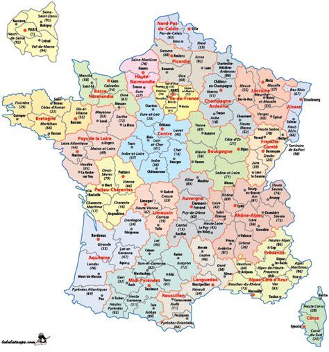 Carte De Par Département à Colorier by Carte De 224 Imprimer D 233 Partements Pr 233 Fectures