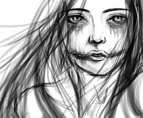 Horror Art Drawing