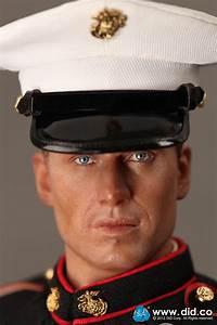 DiD US Ceremonial Marine with Overcoat and M1 Garand ...  Marine