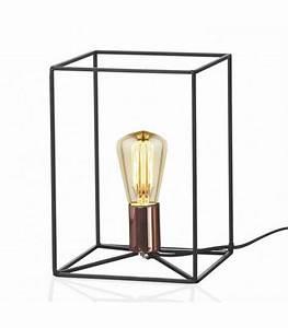 Lampe A Poser Noire : lampes poser pour bureau table meuble deco industrielle articul e ~ Teatrodelosmanantiales.com Idées de Décoration