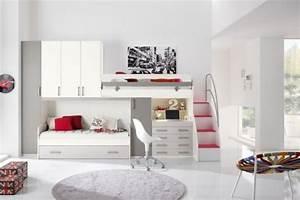 Mobilier Chambre Enfant : mobilier chambre enfant 100 id es cool pour vous inspirer ~ Teatrodelosmanantiales.com Idées de Décoration
