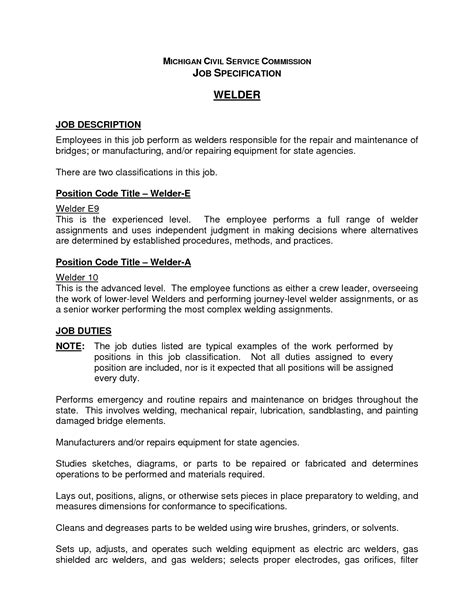 Pipefitter Resumes Sle by 100 Welder Pipefitter Resume Sales Welder Projects
