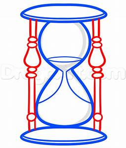 Hourglass Drawing Lesson, Step by Step, Stuff, Pop Culture ...
