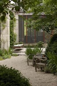 Terrasse Mit Kies : wundersch ner garten mit kies gestaltet garten pinterest garten garten ideen und ~ Markanthonyermac.com Haus und Dekorationen