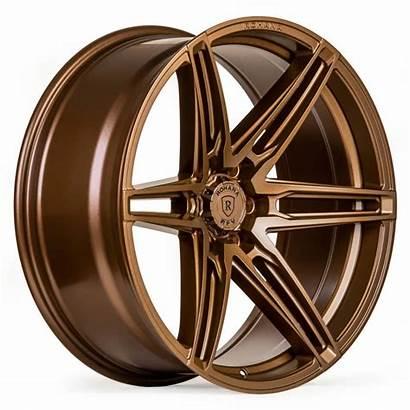 Bronze Matte Rohana Wheels Rim Wheel Silverado