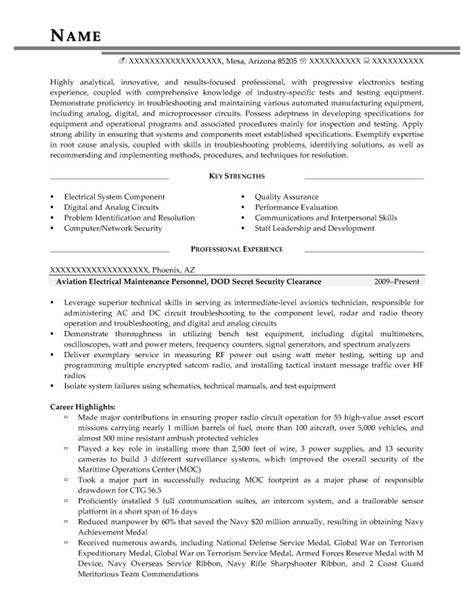 security clearance resume example military transition resume samples resume prime