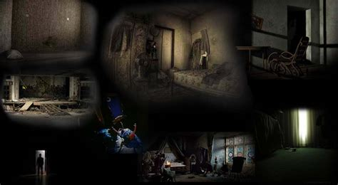 scary empty room
