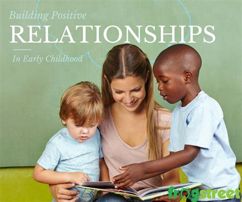 Building Relationships In The Early Childhood Classroom