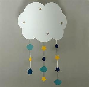 Applique Murale Chambre Enfant : applique enfant nuage maison casse noisette ~ Teatrodelosmanantiales.com Idées de Décoration