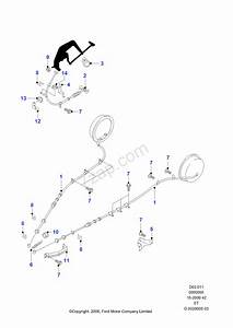 31 Ford Ranger Parking Brake Cable Diagram