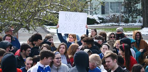 creating spark dhs students participate national walkout
