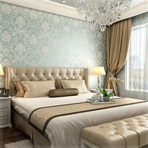european fashion woven wallpaper roll flocking glitter