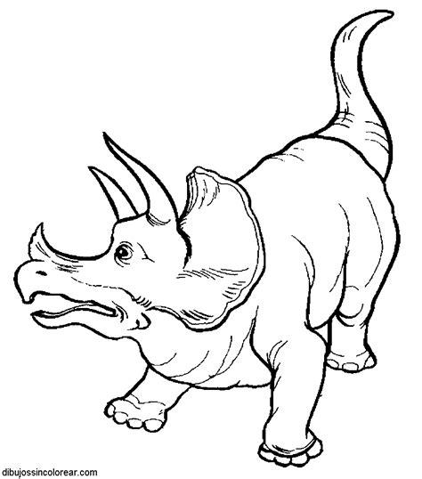 dibujos sin colorear dibujos de dinosaurios  colorear