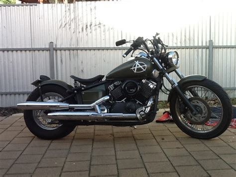 Yamaha V-star 650 Bobber Motorcycle