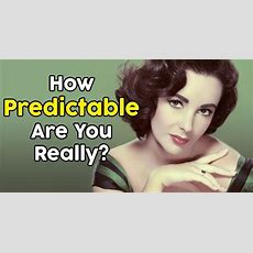 How Predictable Are You Really? Quizdoo