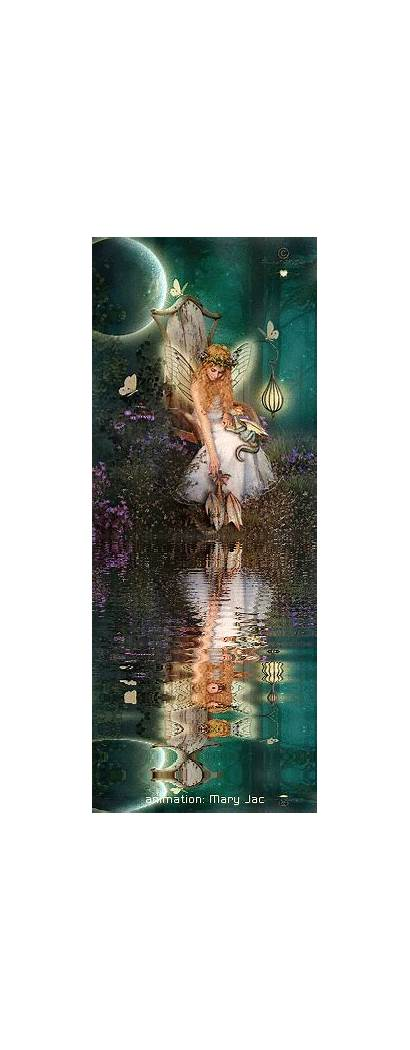 Fairy Fantasy Fairies Animated Throne Realm Angel